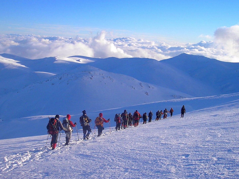 Σχολή Ορειβασίας Χειμερινού Βουνού
